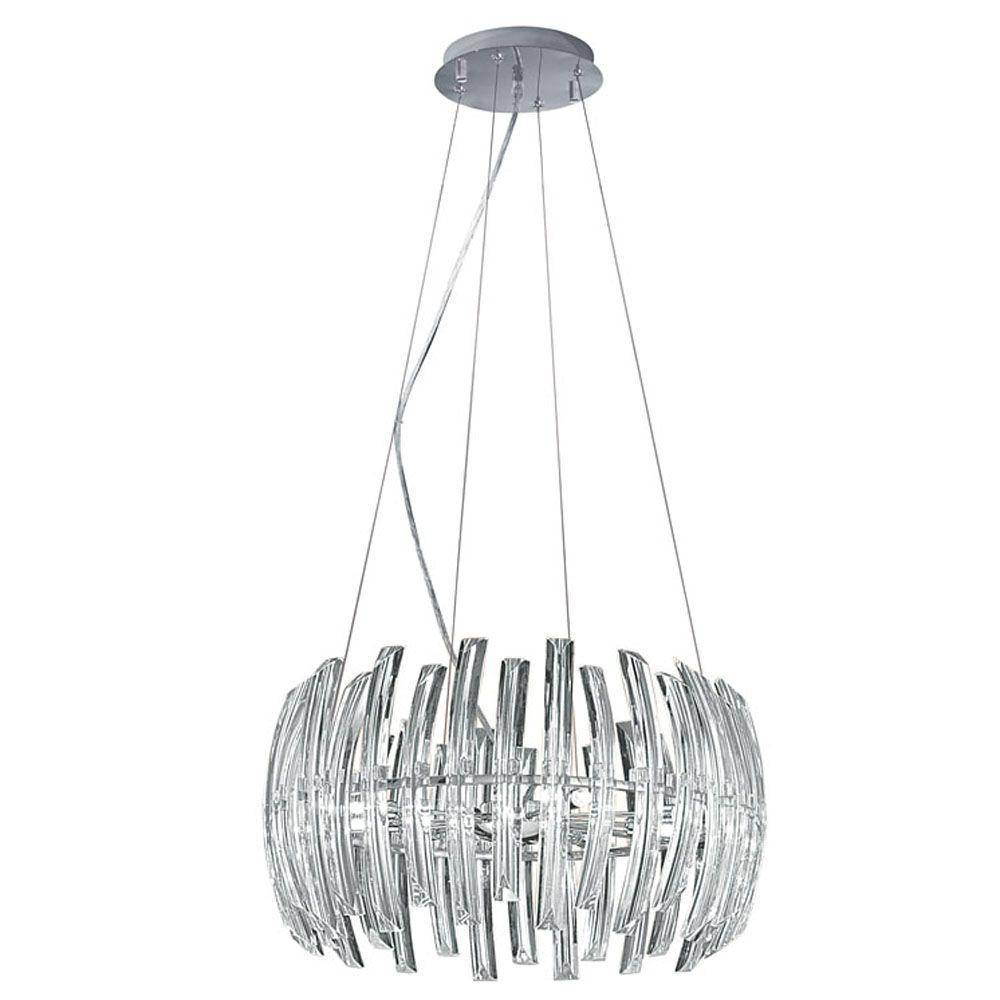 Eglo Drifter 9-Light Chrome Hanging Light
