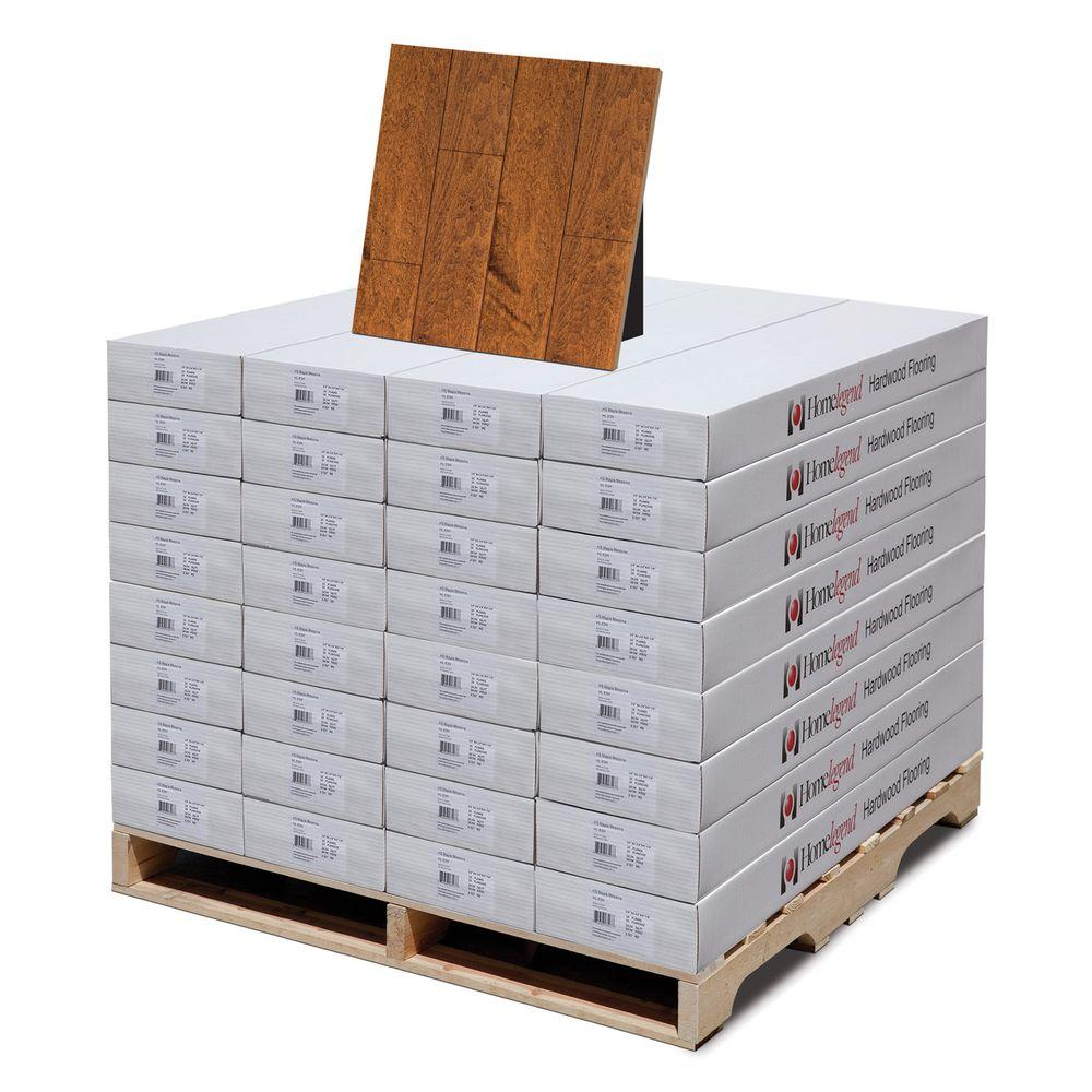 Home Legend Hand Scraped Maple Messina 3/8 in. T x 4-3/4 in. W x 47-1/4 in. L Hardwood Flooring (798.08 sq.ft/pallet)-DISCONTINUED