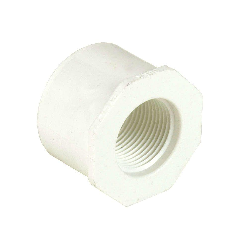 12 in. x 4 in. Schedule 40 PVC Reducer Bushing SPGxS
