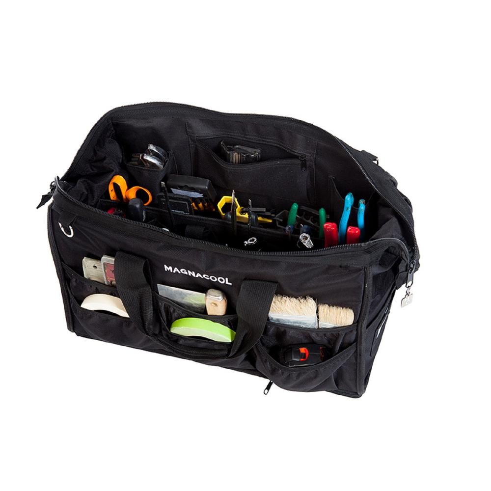 Magnacool World S First Magnetic Tool Bag Removable Carrier 11 Lbs 21 In L