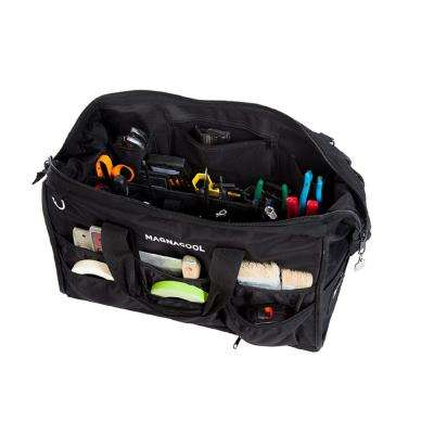 World's First Magnetic Tool Bag Removable Tool Carrier 11 lbs. 21 in. L x 13 in. W Black Canvas Shoulder Strap Included