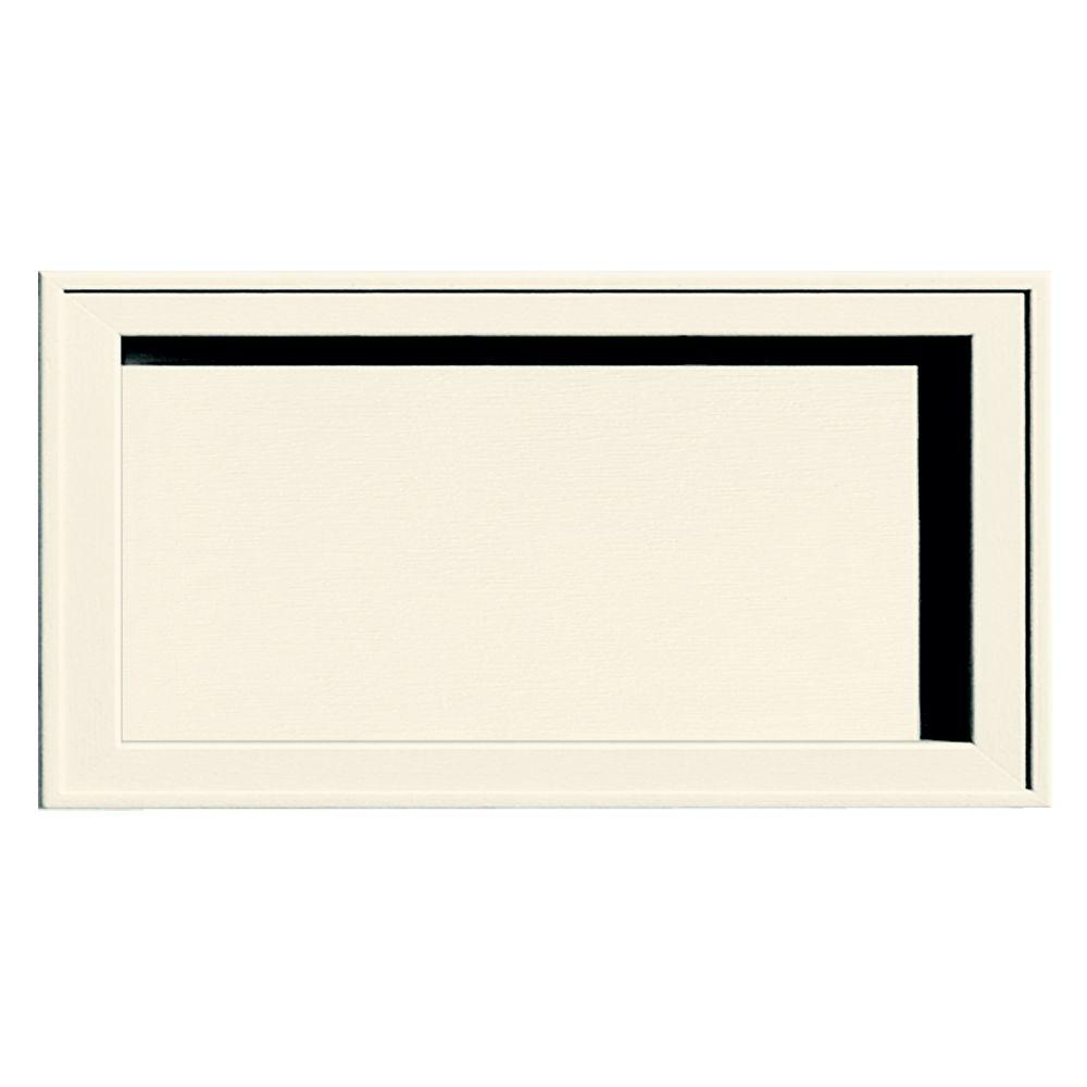 Builders Edge Recessed Jumbo Mounting Block #034-Parchment