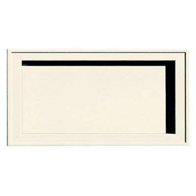 Recessed Jumbo Mounting Block #034-Parchment