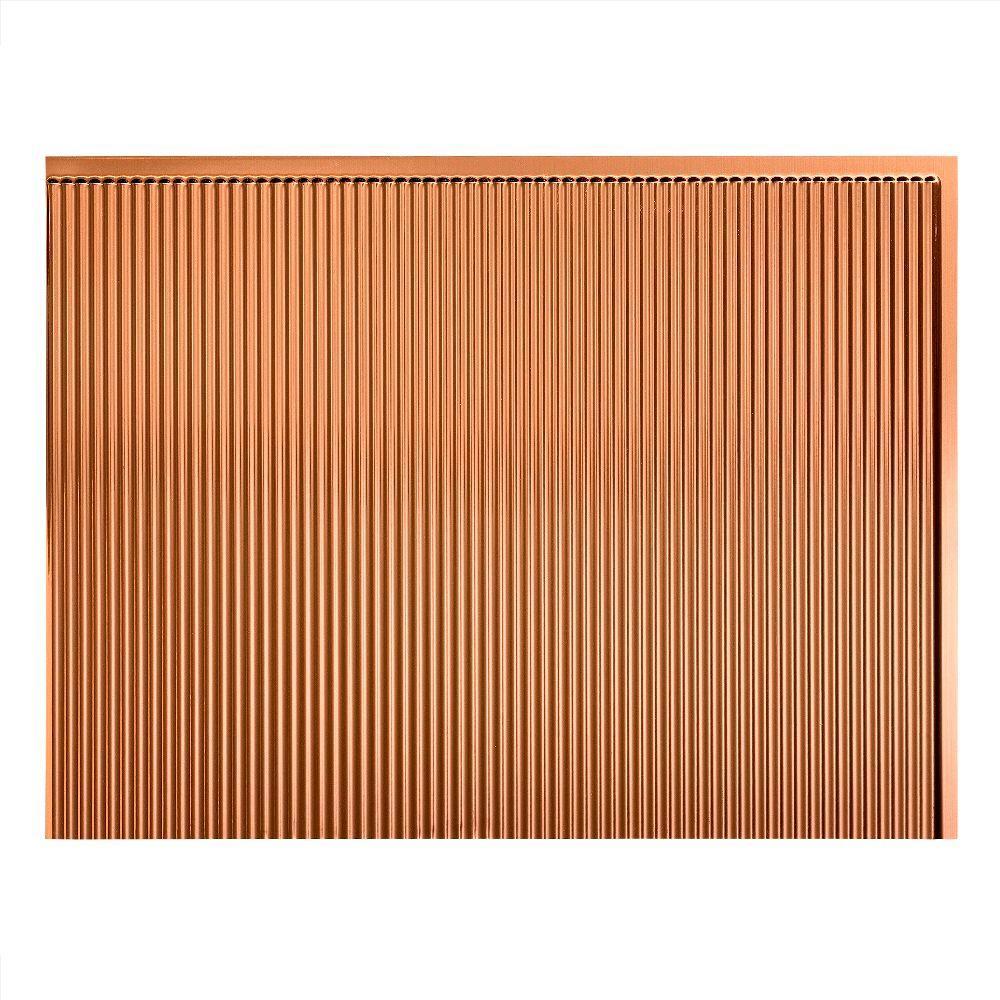 Fasade 18in x 24in Rib Backsplash 18 sq ft Kit