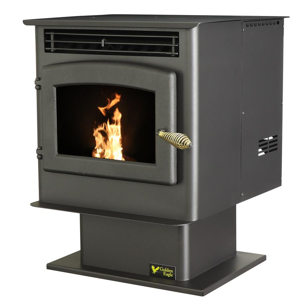 Us Stove 1 800 Sq Ft Epa Certified Pellet Stove With 40