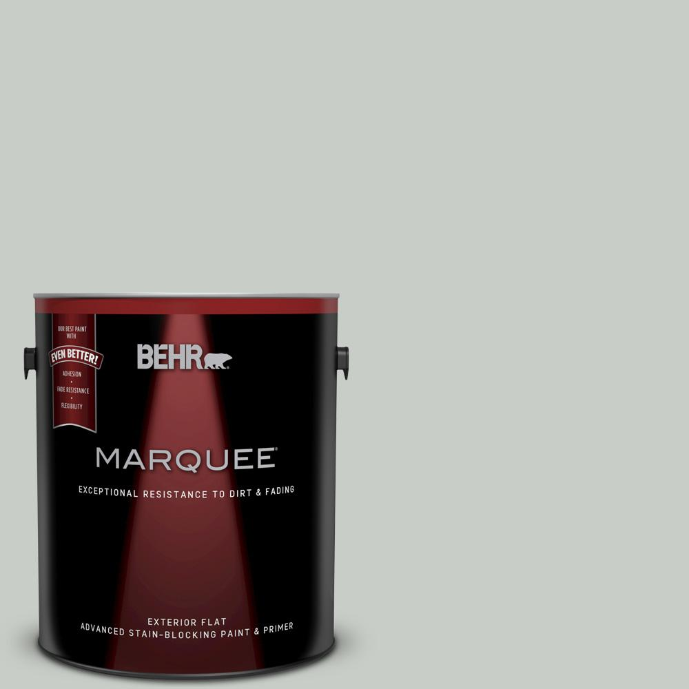1-gal. #PWL-89 Silver Setting Flat Exterior Paint