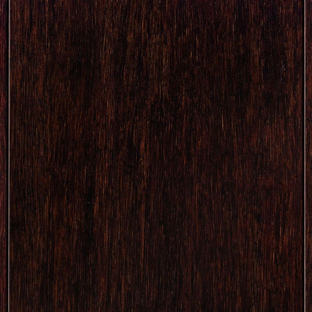 Exceptional Hand Scraped Strand Woven Walnut 3/8 In. Thick X 5 In. Wide