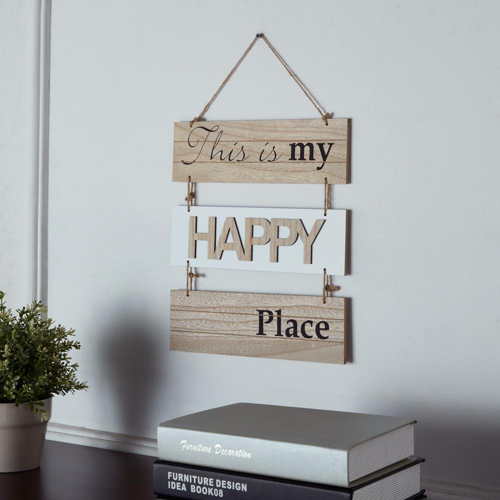 DANYA B Inspirational This Is My Happy Place Sectioned ...