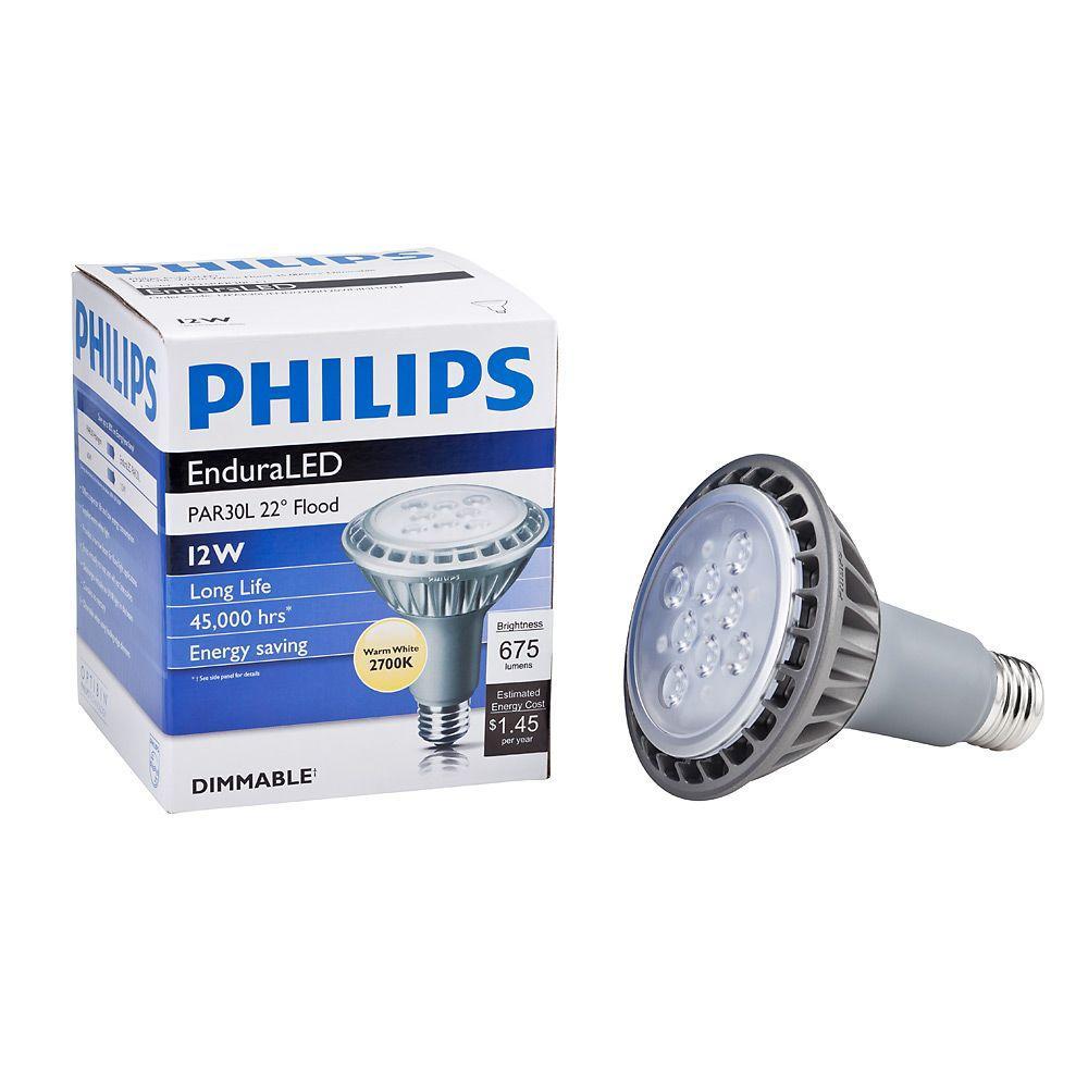 60W Equivalent Soft White PAR30L LED Flood Light Bulb