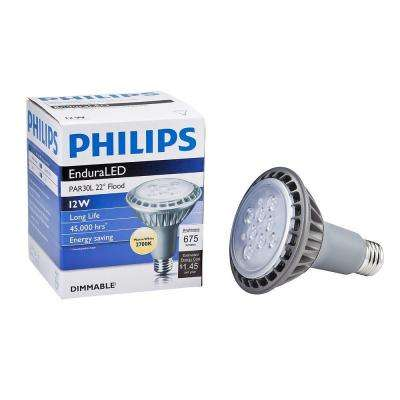 60W Equivalent Soft White PAR30L LED Flood Light Bulb