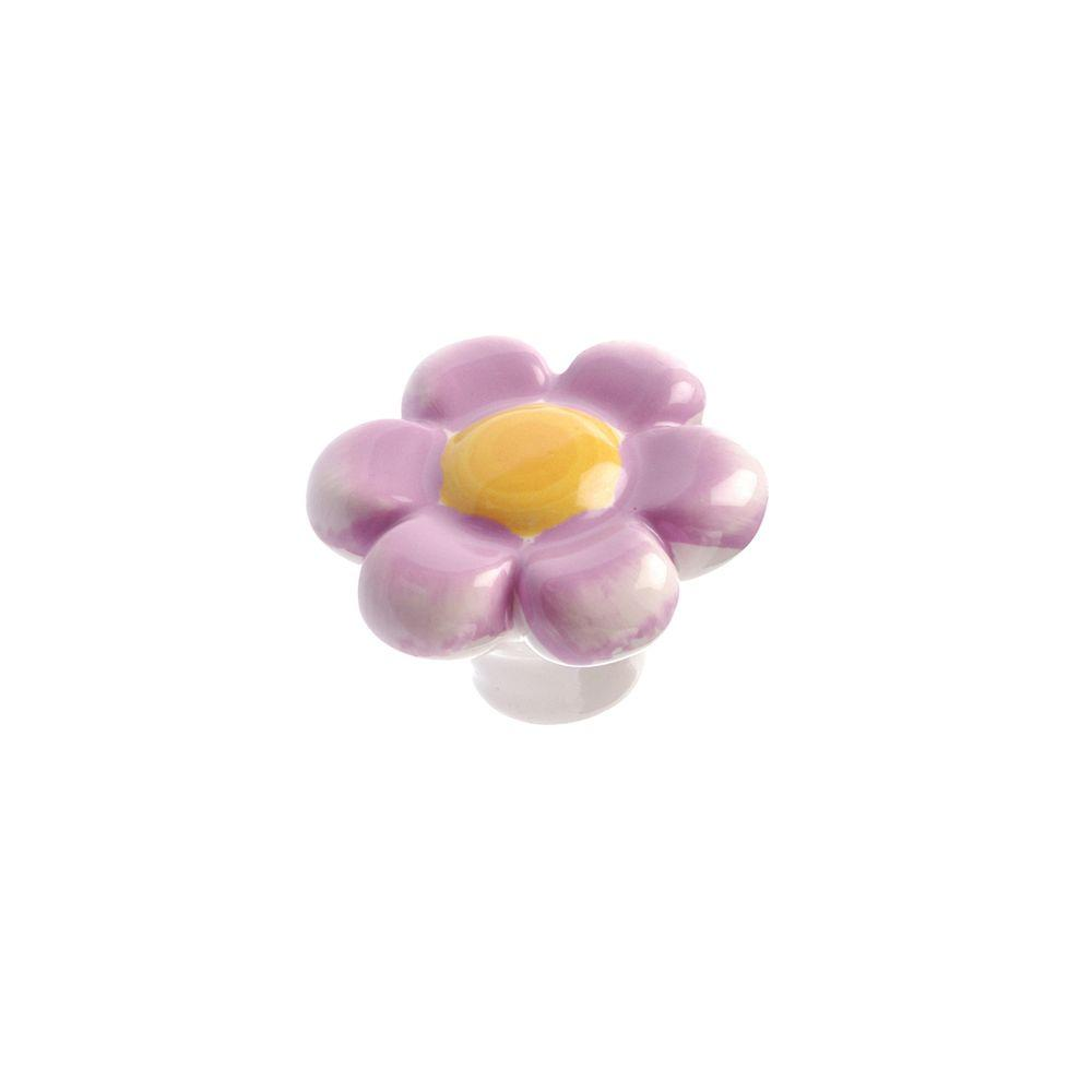 This Review Is From:Country 1 37/64 In. Pastel Purple Cabinet Knob