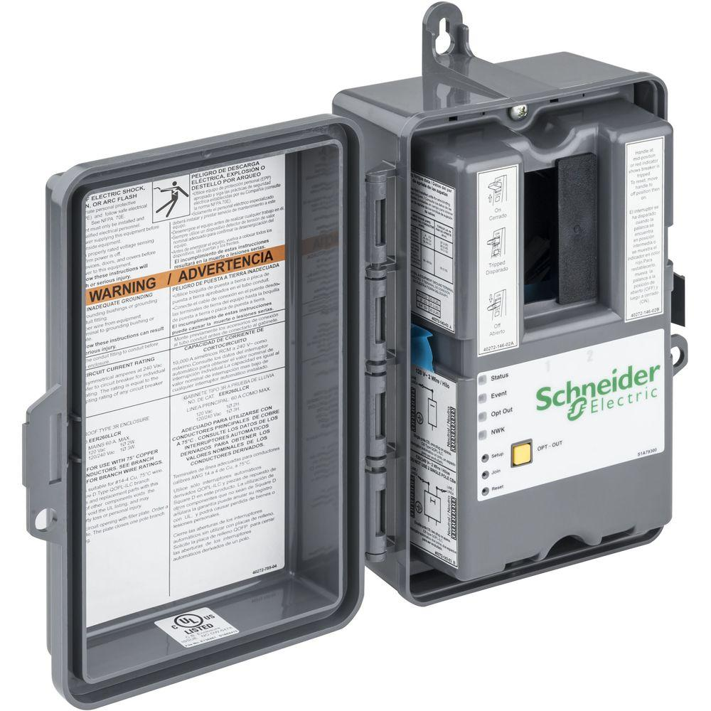 Schneider Electric Wiser Large Load Controller and Disconnect