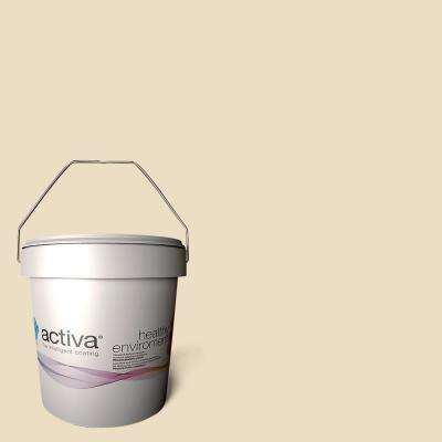 1 gal. Segovia Cream Latex Premium Antimicrobial Anti-Mold Earth Friendly Self-Cleaning Photocatalytic Interior Paint