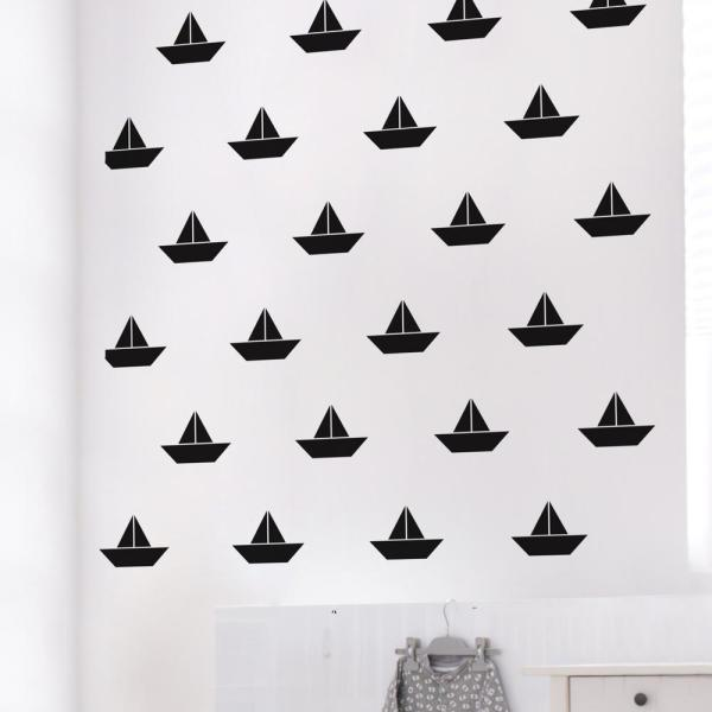 Adzif ''Set Sail'' Kids Wall Decal (2-Sheets) FM071-AJV5