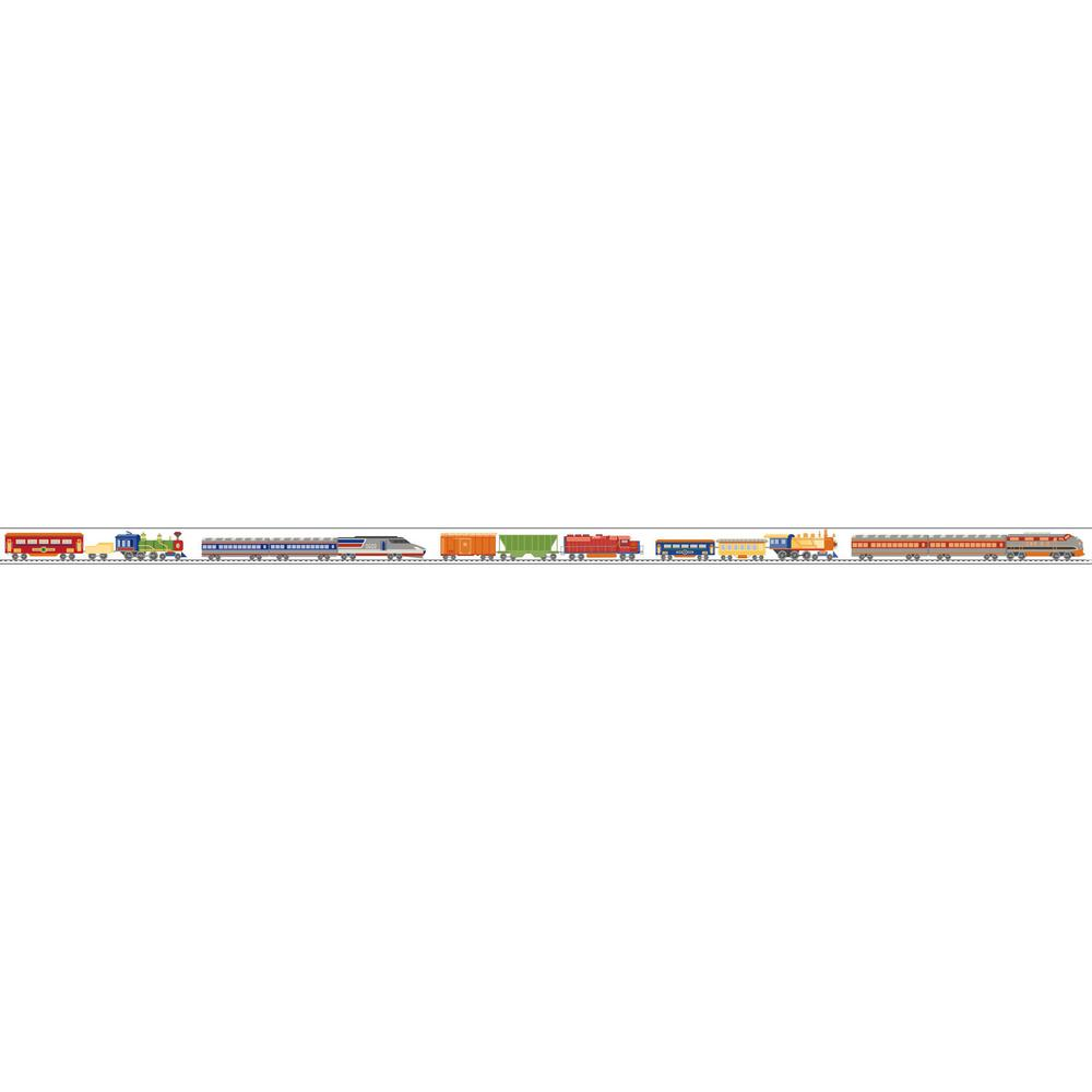 Growing Up Kids Just The Ticket Removable Wallpaper Border