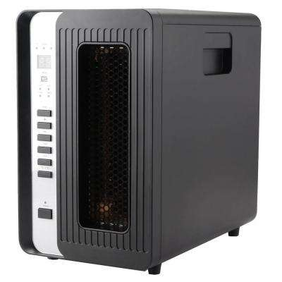 1000-Watt to 1500-Watt 3-Element Infrared Quartz Heater with Remote Control and LED Display