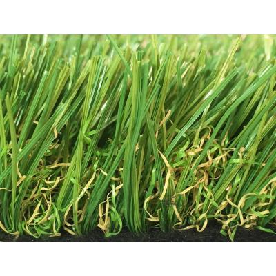 GREENLINE Sapphire 50 Fescue 15 ft. Wide x Cut to Length Artificial Grass