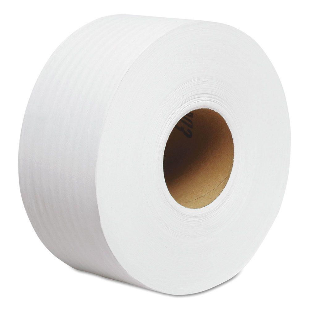 Cottonelle White 2-Ply Jr. Jumbo Bathroom Tissue (12 Rolls)