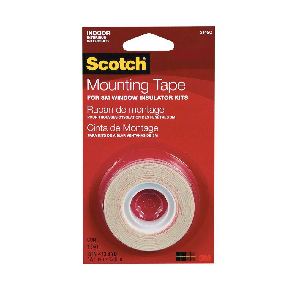 1/2 in. x 13.8 yd. Indoor Window Film Mounting Tape