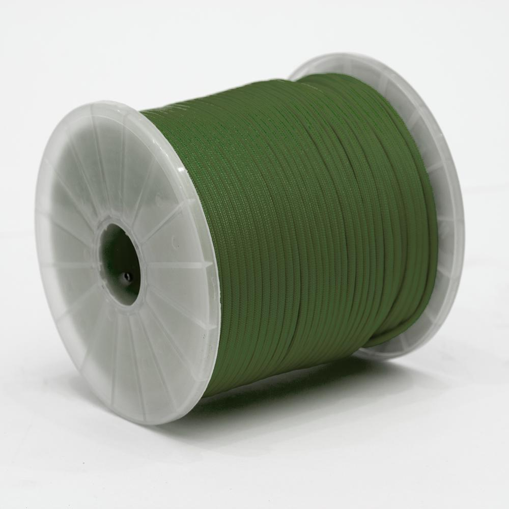 Vert émeraude 550 LB TYPE III Paracord Survie Corde Bracelet-Made in the USA environ 249.48 kg