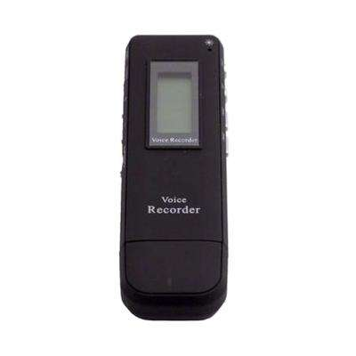 Mini Telephone Voice Recorder - Black