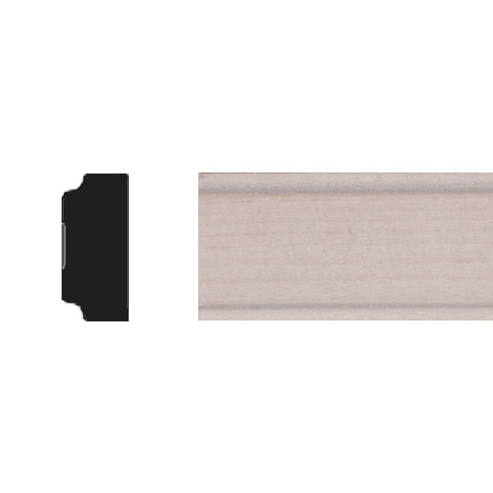 House of Fara 11/32 in. x 3/4 in, x 4 ft. Basswood Panel Moulding