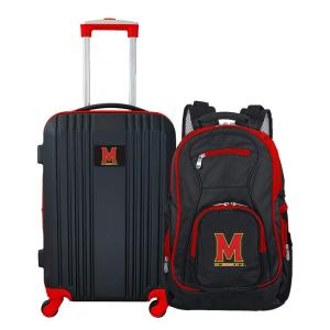 NCAA Maryland Terrapins 2-Piece Set Luggage and Backpack
