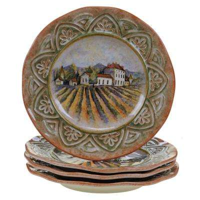 Sanctuary Wine Dinner Plate (Set of 4)