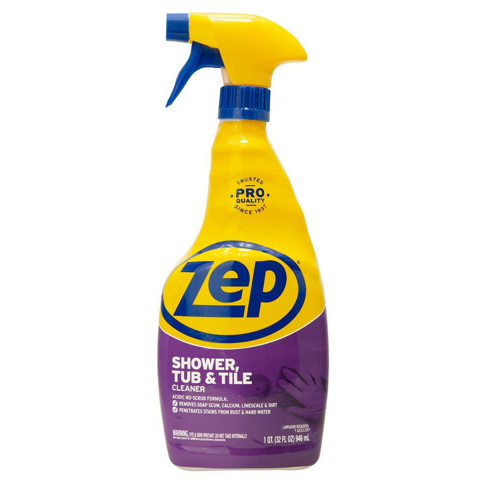 Excellent Zep 32 Oz Shower Tub And Tile Cleaner Interior Design Ideas Helimdqseriescom