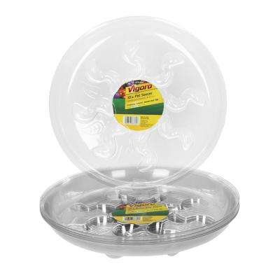 10 in. Plastic Heavy-Duty Plant Saucer (5-Pack)