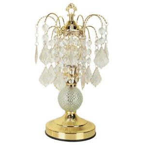 ORE International 15 inch Glass Touch Gold Accent Lamp by ORE International