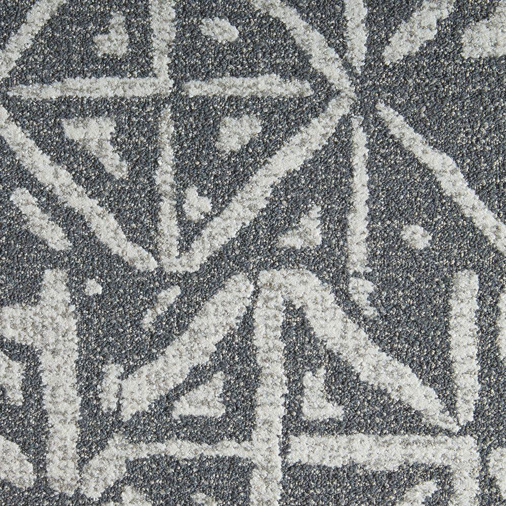 flor yabara granite 197 in x 197 in carpet tile 6 tiles