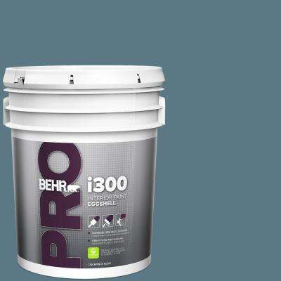 Behr Pro 5 Gal Ppu13 03 Catalina Coast Eggshell Interior Paint Pr33305 The Home Depot