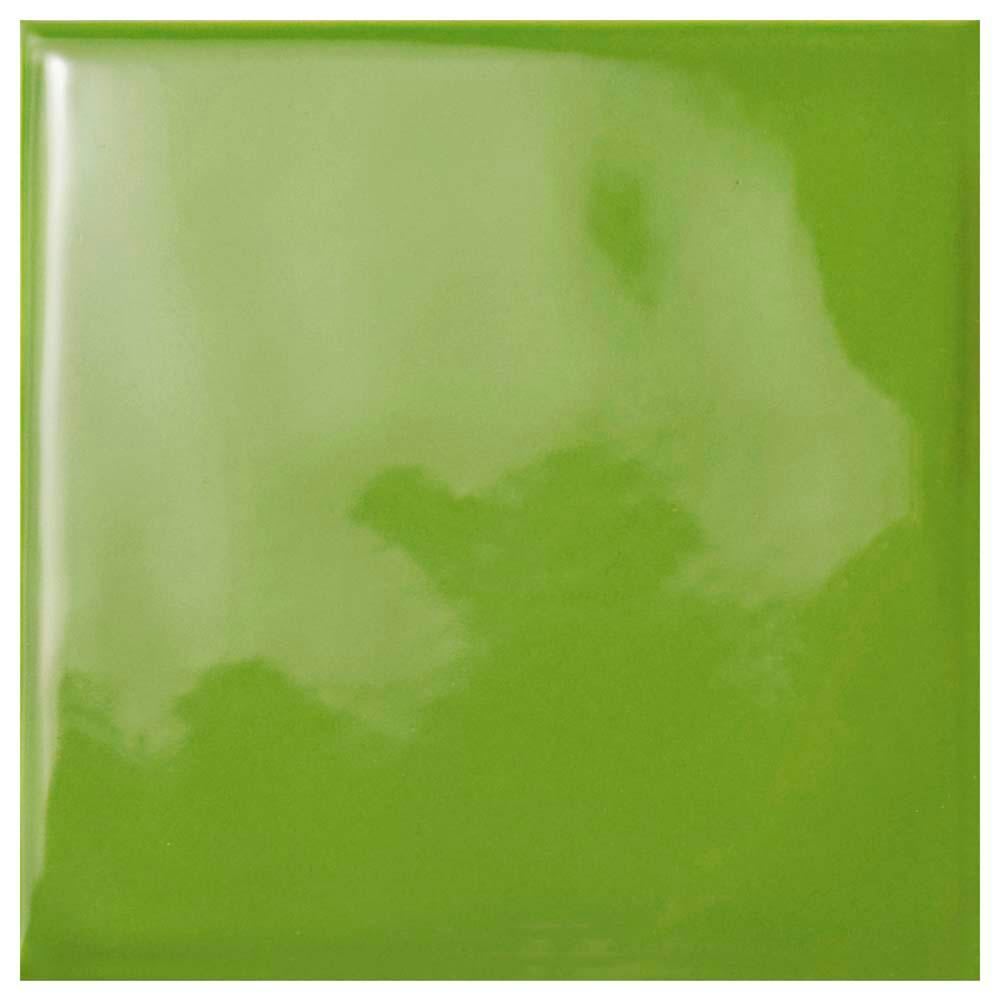 Green ceramic tile tile the home depot twist square green kiwi 3 34 in x 3 3 dailygadgetfo Choice Image