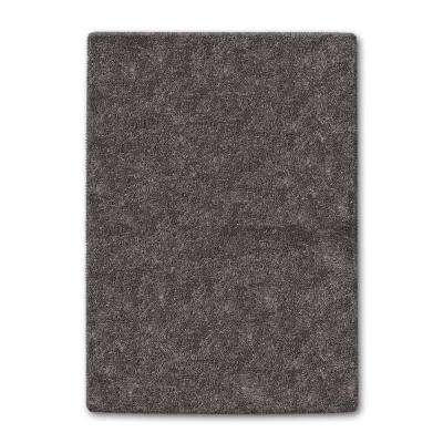 Gray Color Shag 5 ft. x 8 ft. Area Rug
