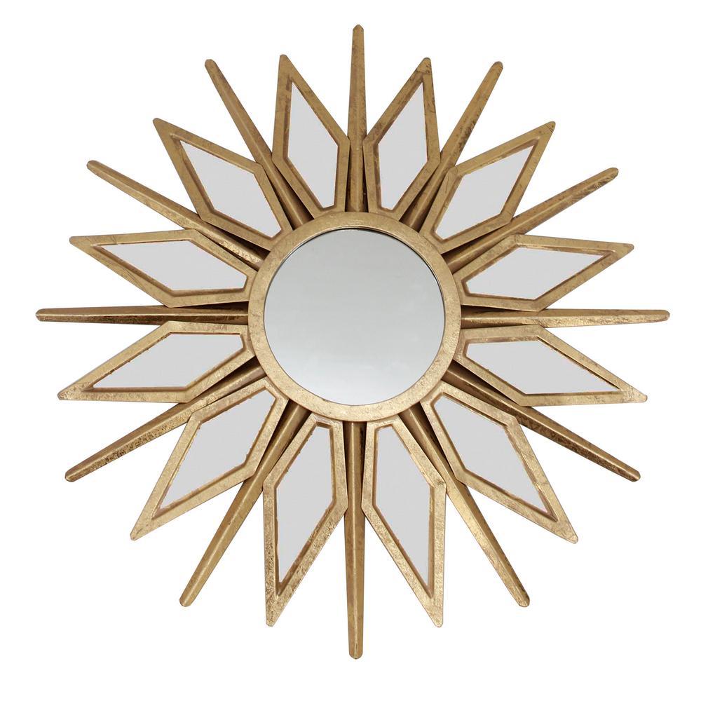 Solano Gold Wall Mirror