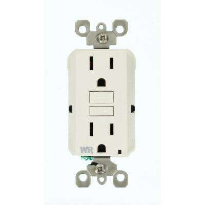 gfci outdoor electrical outlets receptacles wiring devices rh homedepot com Outdoor Light Wiring to GFCI Outlets GFCI Multi-Outlet Strip Outdoor Construction