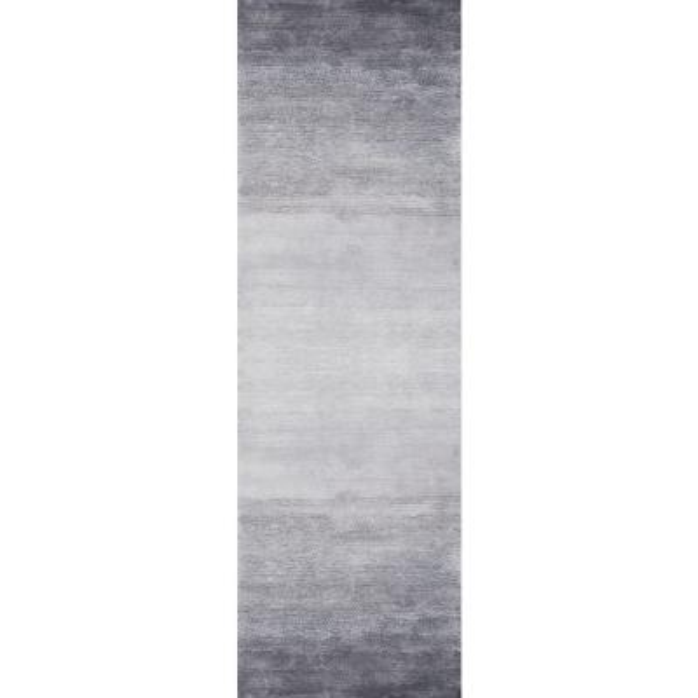 Bernatta Contemporary Ombre Gray 3 ft. x 8 ft. Runner