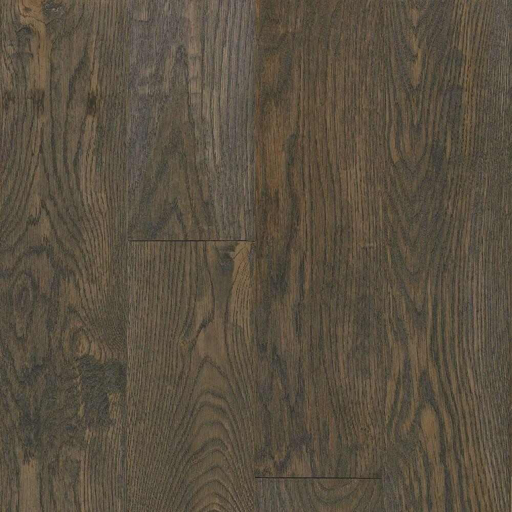 Bruce american vintage wolf run oak 3 4 in t x 5 in w x for Solid hardwood flooring