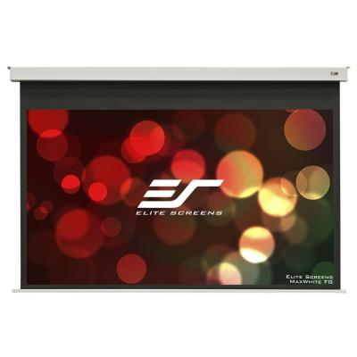 120 in. Electric In-Ceiling Projection Screen with 8 in. Drop