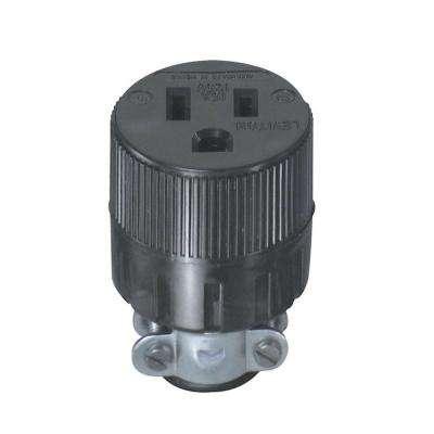 15 Amp 125-Volt Double-Pole Round Connector