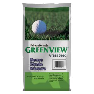 Greenview 25 lb. Fairway Formula Dense Shade Grass Seed Mixture by Greenview