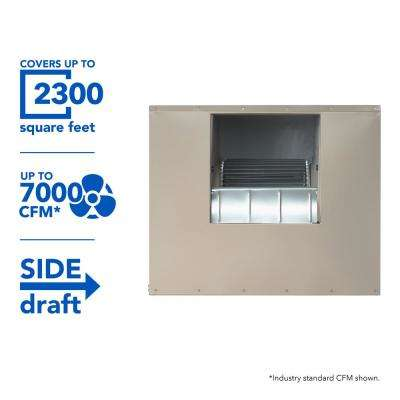 7000 CFM Side-Draft Wall/Roof 8 in. Media Evaporative Cooler for 2300 sq. ft. (Motor Not Included)