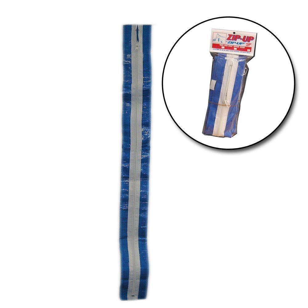 Americover 7 ft zipup temporary zipper 2 pack zipup for Window zipper home depot