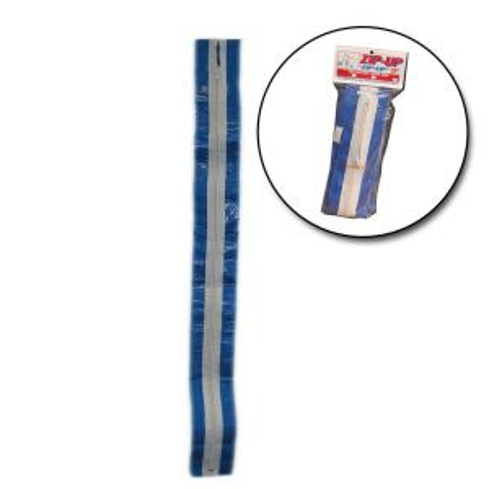 7 ft zipup temporary zipper 2pack