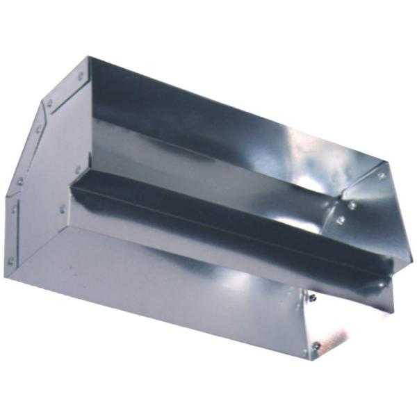 Master Flow 3 1 4 In X 10 In Short Way 90 Degree Rectangular Elbow 90e3 25x10 The Home Depot