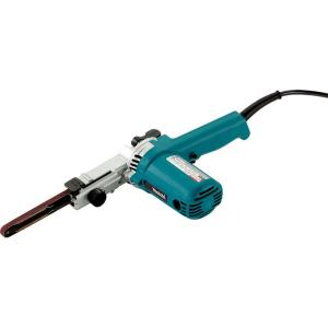 Makita 4.4 Amp 3/8 inch x 21 inch Corded Variable Speed Belt Sander with 80 Grit Abrasive Belt by Makita