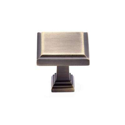 Gold - Square - Cabinet Knobs - Cabinet Hardware - The Home Depot