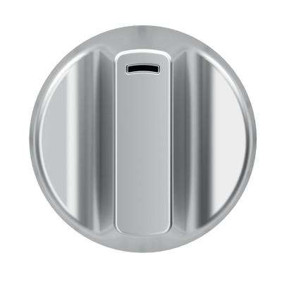 Electric Cooktop Knob Kit in Brushed Stainless