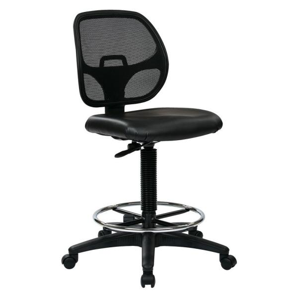 Office Star Products Black Drafting Chair